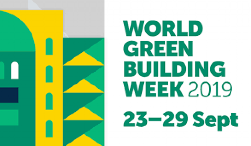 World Green Building Week 2019 advertisement