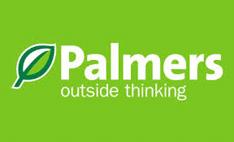 Palmers Gardening stores logo