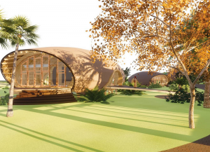 Green School design in Taranaki, Oakura